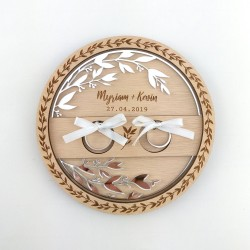 porte-alliance original en bois et plexiglas