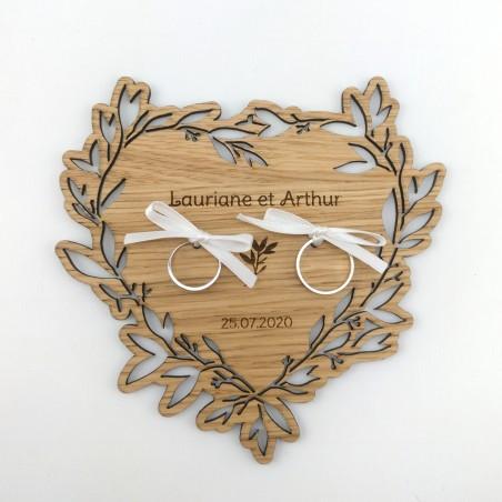 porte-alliances bois coeur