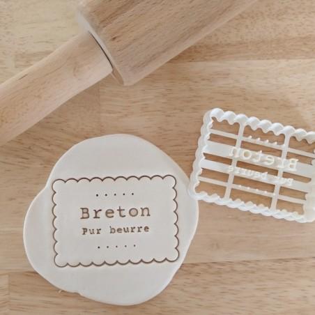 emporte pièce petit beurre breton cookie cutter