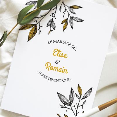 Surréaliste Faire-part mariage et naissance - Rennes (35) - Ille et Vilaine BC-67